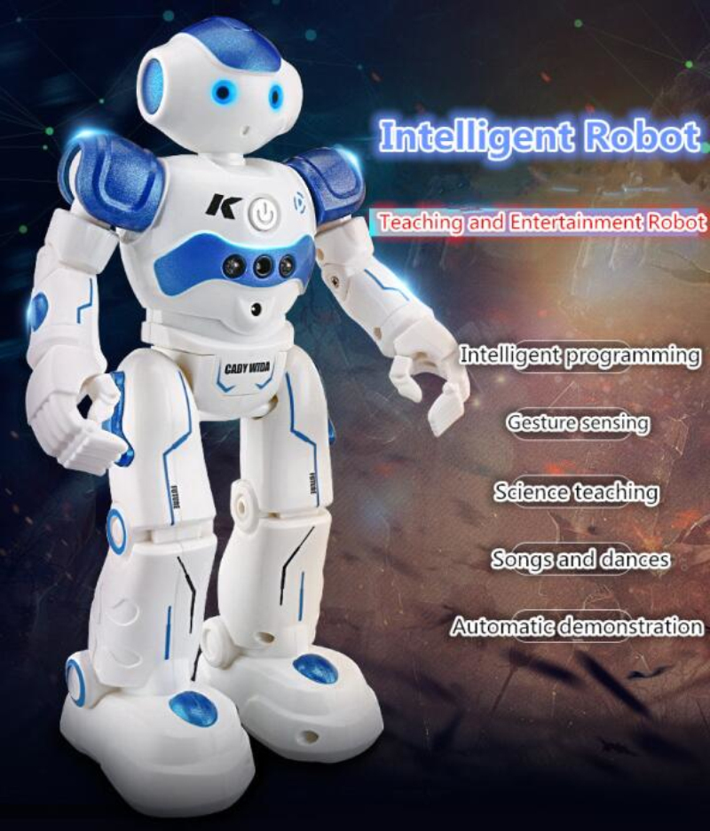 Clasic RC smart robot toy 917 multifunctional Infrared gesture sensor Slide Walk Dance Intelligent remote control robot kids to