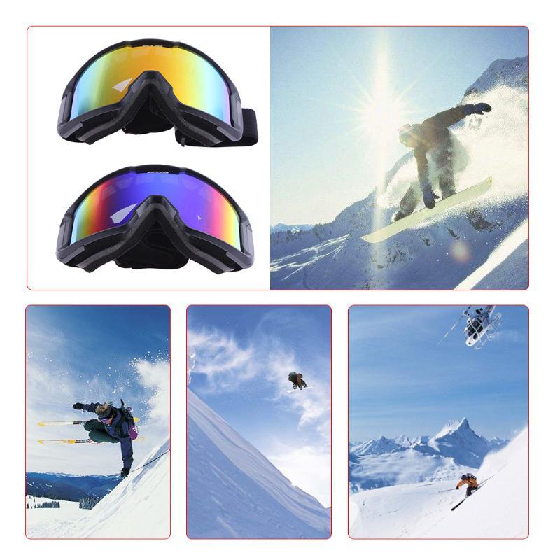 Унисекс Открытый лыжные Очки сноуборд очки анти-песок ветрозащитный очки маска Очки Мужчины Женщины ветрозащитный Велоспорт велосипед очк...