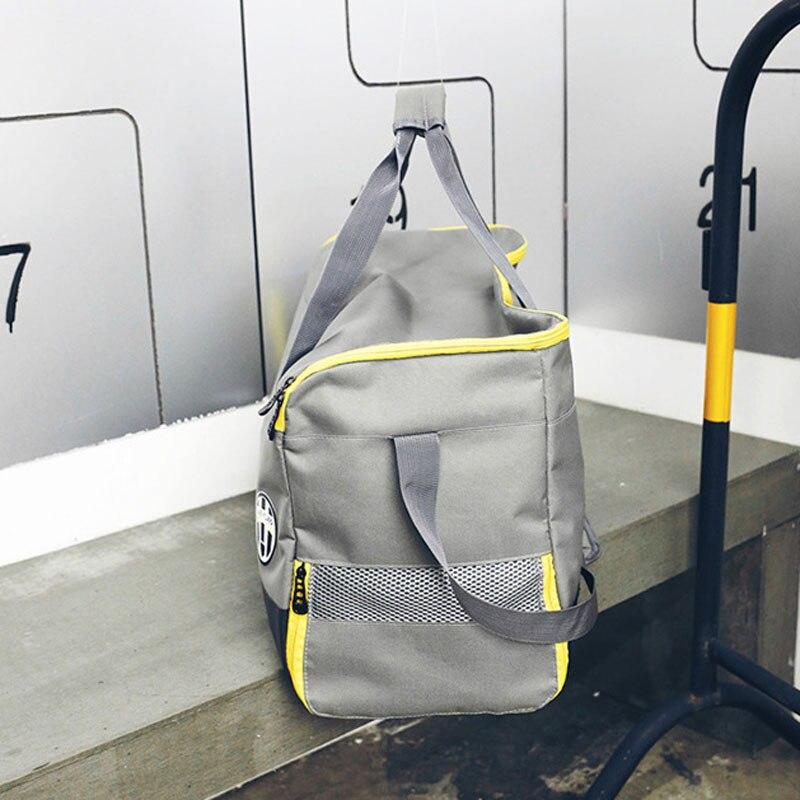 55b0f403d28 2018 Best Seller Outdoor Sports Gym Bag Women Fitness Training Handbag  Shoulder Sport Bags Short Trip Travel Duffel Bags-in Gym Bags from Sports  ...