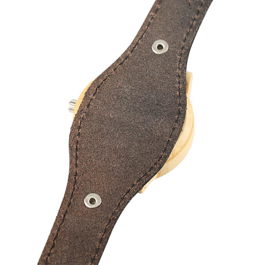 Steampunk Men Wooden Watch Skeleton Elk Head Carving Dial Black Punk Bracelet Creative Teenagers Wood Wristwatch Cool Gift Clock (6)