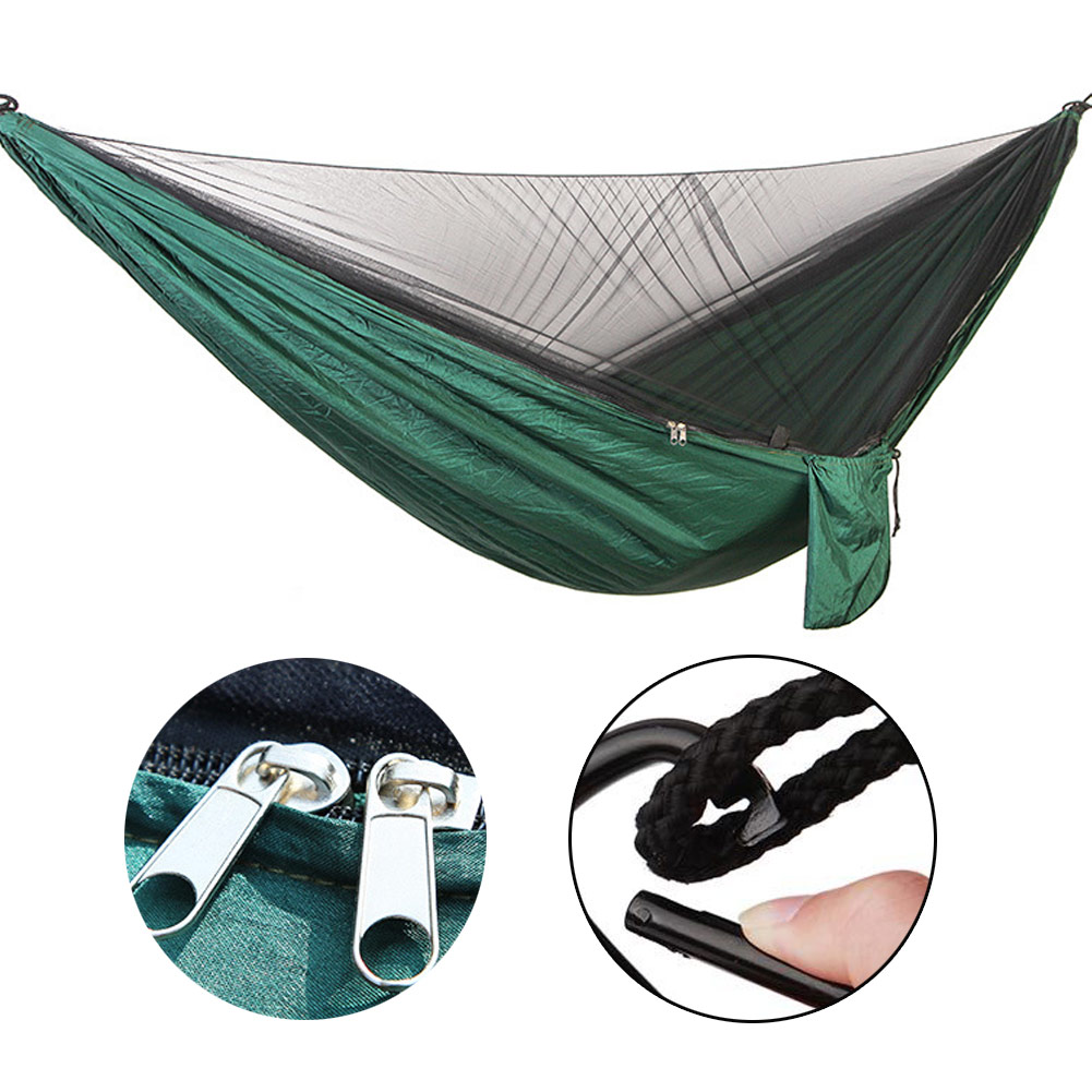 Camping Hammock With Mosquito Net Ultra Light Portable