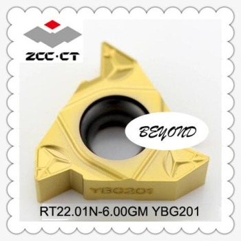 Original ZCC Insert RT22.01N-6.00GM YBG201 RT22 RT Carbide Inserts Turning Tool Lathe Tools Cutter porta cuchillas torno CNC - discount item  7% OFF Machinery & Accessories