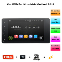 7 1024 600 16GB Android 5 1 Car DVD GPS Navigation For Mitsubishi Outlander Lancer ASX
