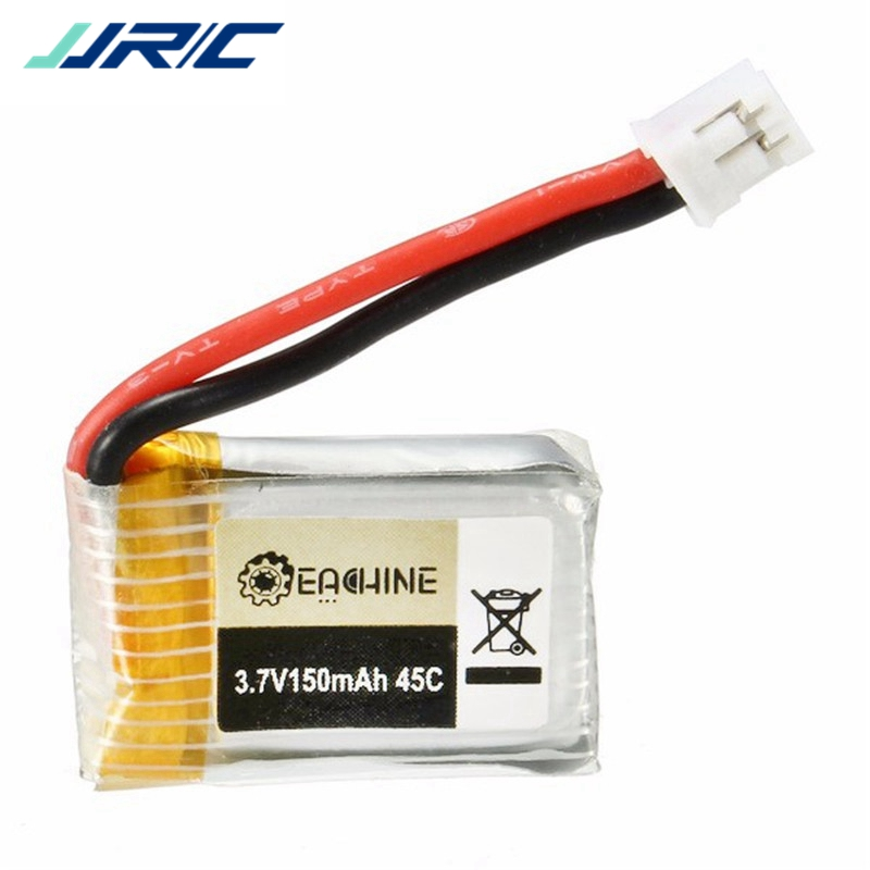 3.7V 150mah 45C Upgraded Lipo Battery For JJRC H36 Eachine E010 E010C RC Mini Drone Quadcopter Spare Parts mini drone rc helicopter quadrocopter headless model drons remote control toys for kids dron copter vs jjrc h36 rc drone hobbies