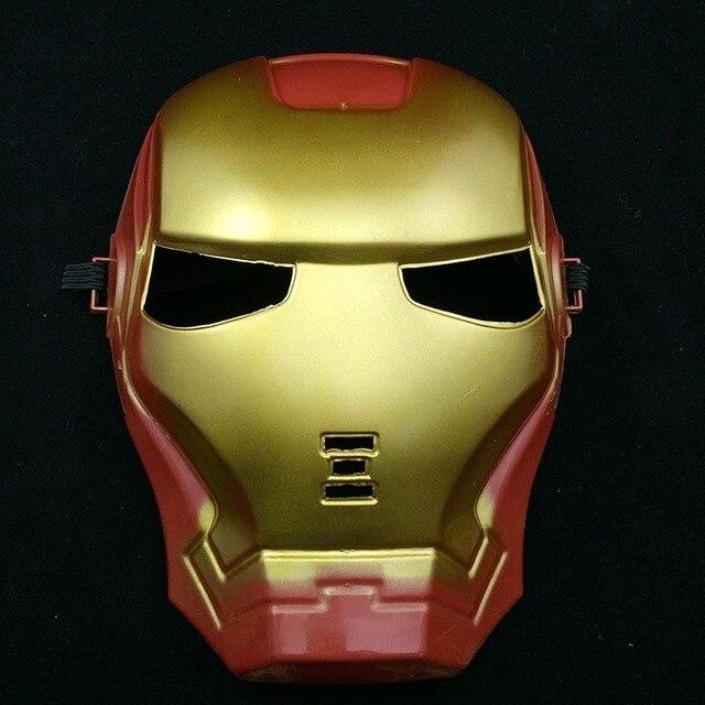 Full Head Mask Super Hero Hulk/American Captain/Iron Man/Spiderman/Batman Crazy Halloween Costume Masks Children Gifts 1