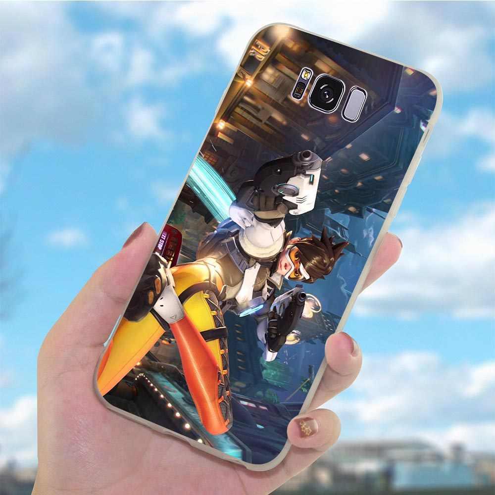רך TPU טלפון מקרה עבור גלקסי סמסונג A30 מעל שעון וינסטון כיסוי A40 A3 A6 בתוספת A5 A7 A8 A9 a10 A20 A50 A70 Ultra דק