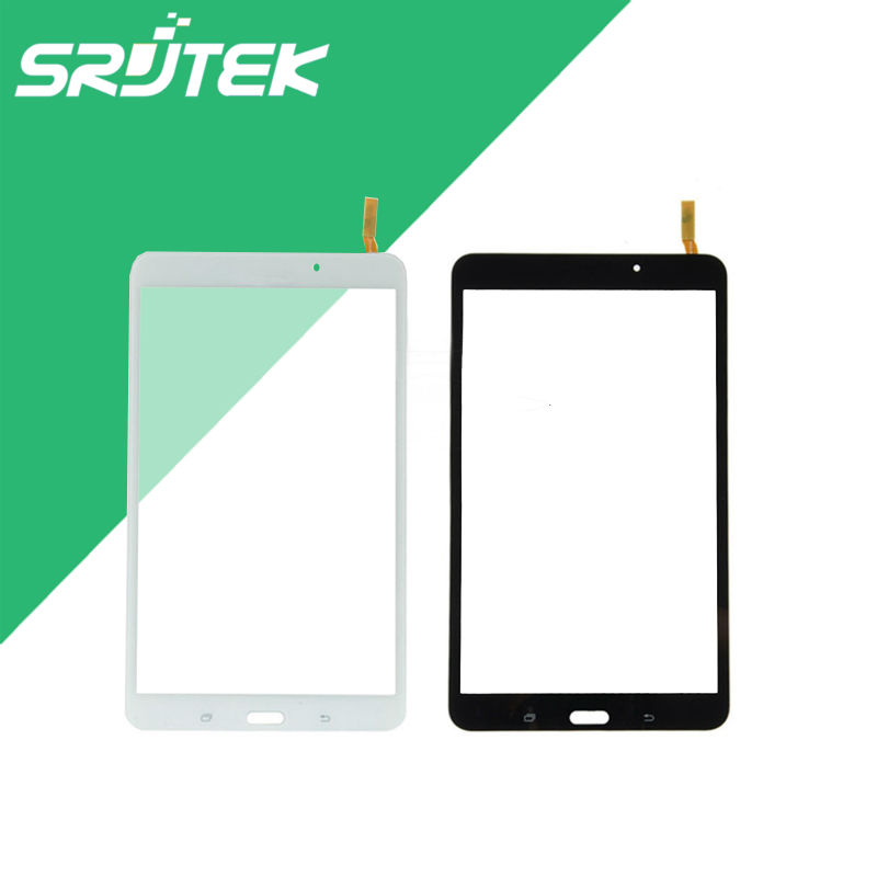 Black/White 8 Touch Panel For Samsung Galaxy Tab 4 8.0 T330 Touch Screen Digitizer Glass Sensor Tablet PC Replacement Parts 10 1 inch for samsung galaxy tab 2 ii gt p5100 p5110 n8000 n8010 n8013 tablet touch screen digitizer glass panel