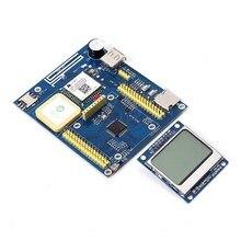Tpyboard V702 GPS GPRS Python развитию Совместимость micropython модуль позиционирования LCD5110 Дисплей Мощность индикатор
