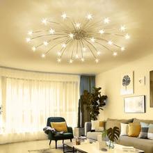 ดอกไม้ห้องนอนห้องครัวเด็กโคมไฟเพดานโคมไฟออกแบบโคมไฟ Ice โมเดิร์น โคมไฟเพดาน