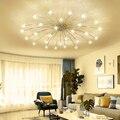 Plafond moderne à LEDs lumière glace fleur verre chambre cuisine chambre enfants plafonnier luminaires design|Plafonniers| |  -