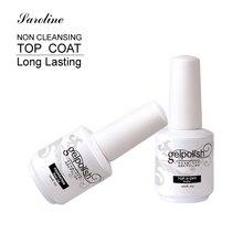 Saroline Base Coat Top Coat Gel UV Nails 15ml Gelpolish