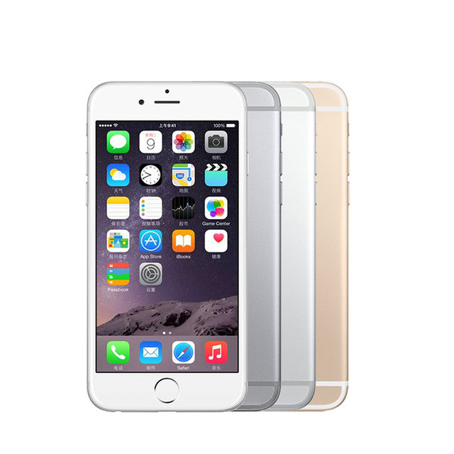 bilder für Entsperrt Apple iPhone 6 Plus 5,5 ''Handys IOS IPS 1 GB RAM 64G 16G 128G ROM GSM WCDMA LTE Refurbished Handy