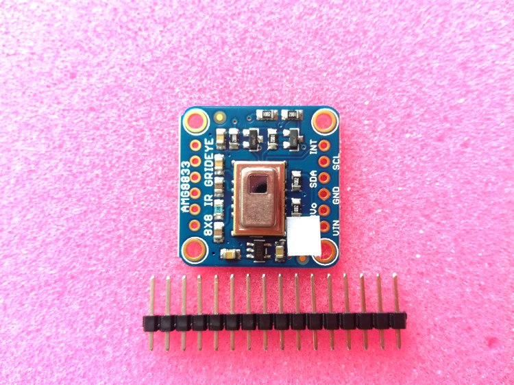Back To Search Resultselectronic Components & Supplies 3538 Amg8833 Ir Thermal Camera 8x8 Thermal Camera Infrared Array Thermal Imaging Ir Thermal Camera Breakout