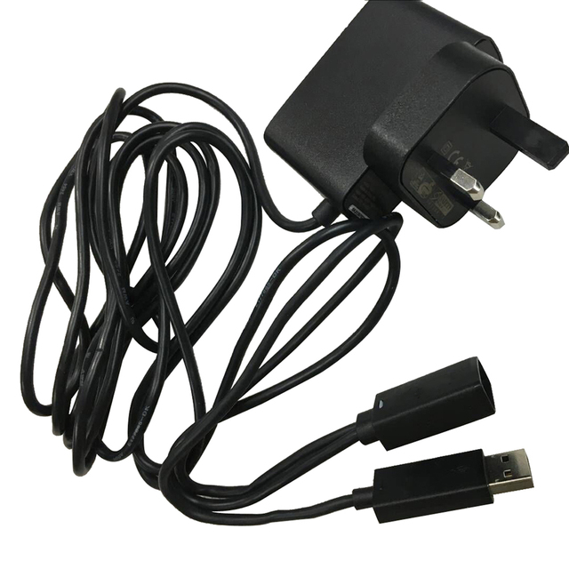 Uk Plug Power Supply Ac Adapter For Xbox 360 Kinect Sensor In