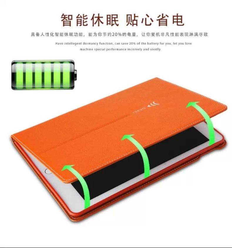 Business Flip Stand PU nahast ümbris iPad Air 2 iPad 6 Smart Cover - Tahvelarvutite tarvikud - Foto 3