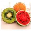 1 PC Creative Personality 3D Fruit Pad Watermelon Stuffed Toys Kiwi Sofa Cushion Pillow Birthday Present For Girls Hot Selling
