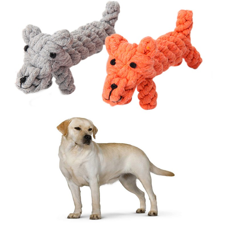 Designing Chewing Toys Cartoon Dog Dog Cotton Toys Cotton Rope Cleaning Teeth Dog Chew Toys Pet Pacific Pups Products Dog