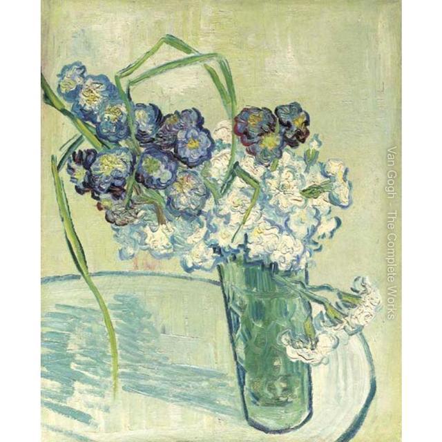 Haute Qualité Vincent Van Gogh Art Moderne Nature Morte Vase Avec
