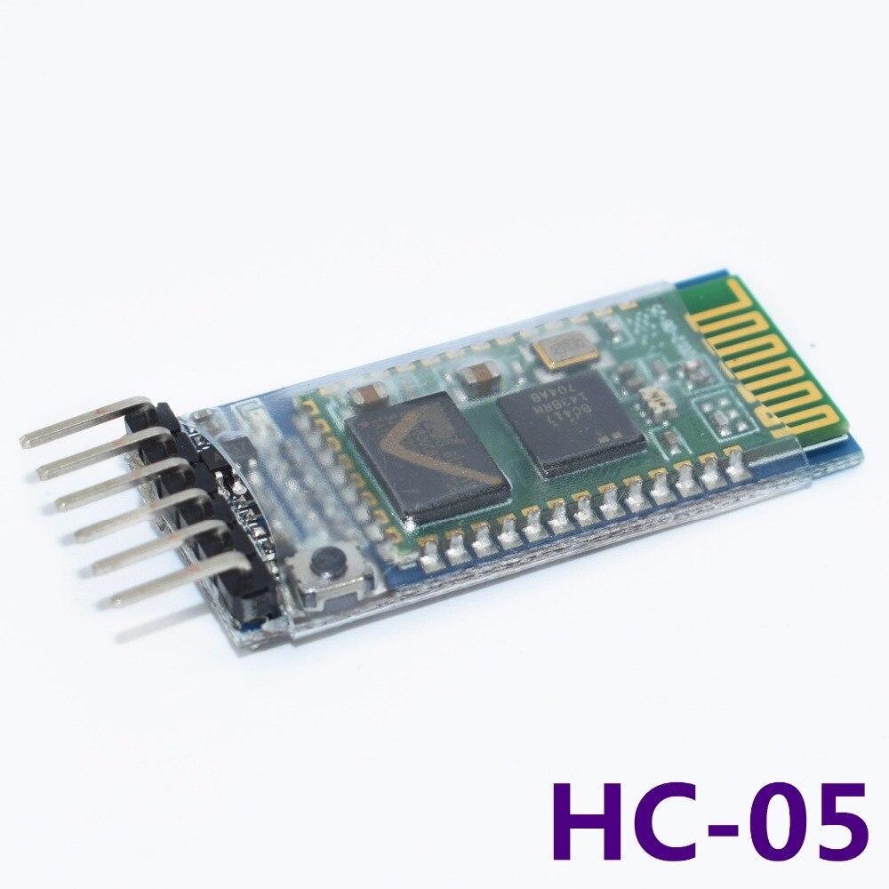 20pcs LOT HC05 JY MCU anti reverse integrated Bluetooth serial pass through module HC 05 master