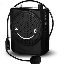 Promocional Guia Turístico Ensino Altifalante Com Microfone Volume Enhancer Apoio TF Cartão USB Handheld Discurso Voz Clara