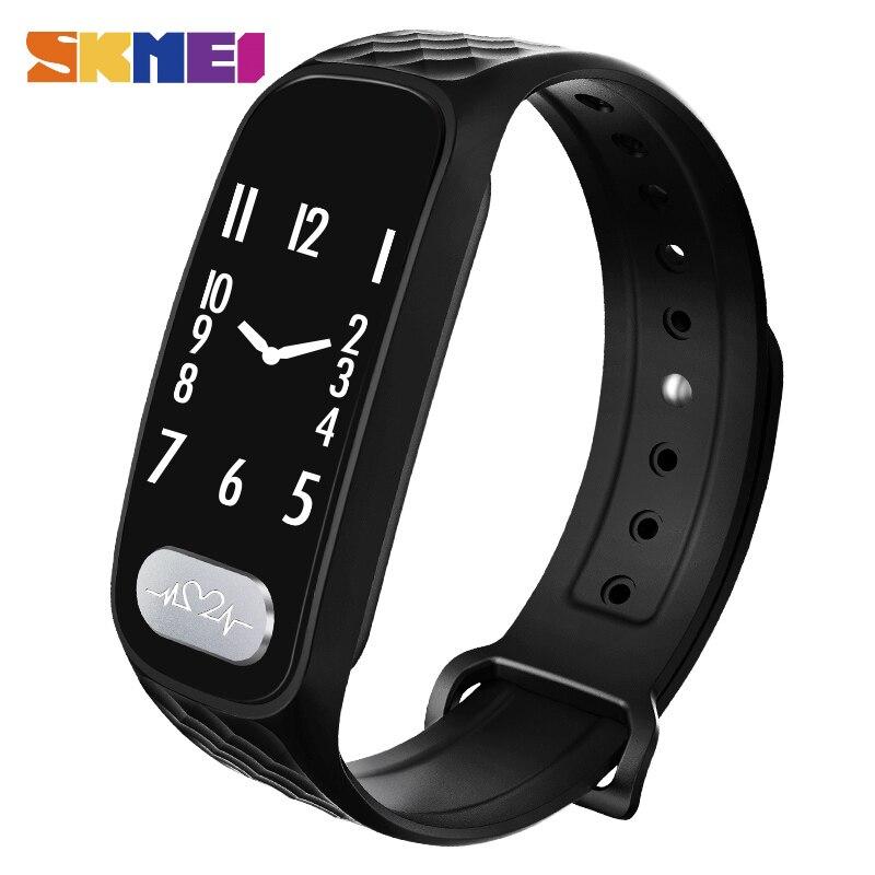 New ECG Heart Rate Monitor Smart Wristband Women Pedometer Sport Digital Watch Ladies Men Blood Pressure Smart Bracelet Bozlun cute love heart hollow out bracelet watch for women