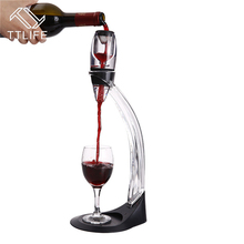 TTLIFE 2017 Professional Bar Tools Wine Decanter Set Mini Essential Red Wine Quick Aerator with Filter Stand Holder Bar Tools