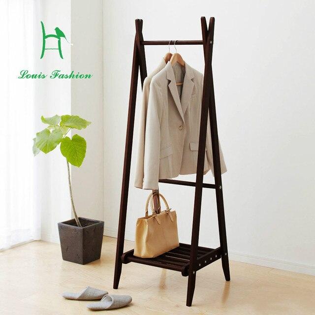 Louis Fashion Coat Hanger Modern Nordic Wood Simple Type