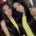7а Дешевые Бразильские Волосы Прямые необработанные Бразильский Прямо Девственных Человеческого Волоса Sassy Girl Brazillian Прямые Волосы 1 Расслоение