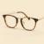 LIYUE do vintage vidros ópticos Moldura Redonda mulheres óculos Quadro de miopia homens Óculos de prescrição óculos de qualidade Superior
