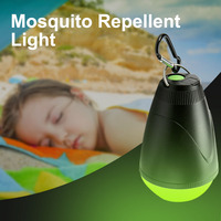Remote Control Anti mosquito Light 1.5W Rain Proof Hanging Portable Camping Tent Light Cabinet Emergency Reading Night Light