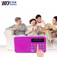 L-938 Digital FM Radio Portable FM dab Radio Radyo Media Speaker MP3 Music Player Support TF Card USB Drive with LED Display css led stage light with wireless bluetooth speaker support tf card music fm radio with usb for parties dj etc black