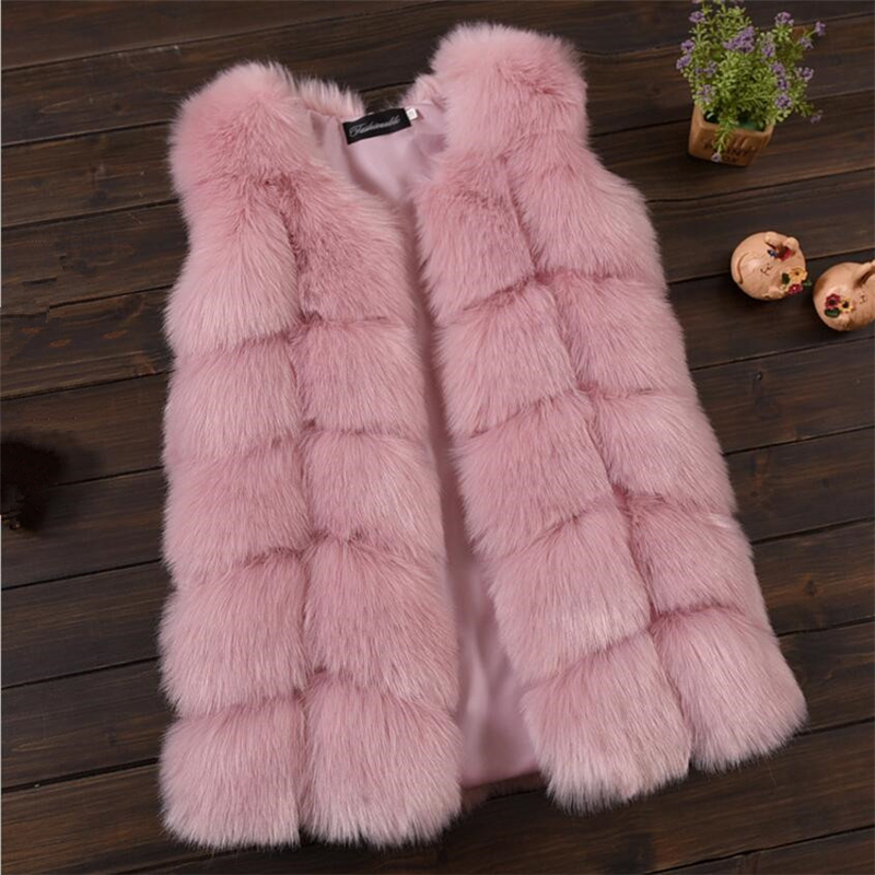Girls jacket, Elegant Fox Fur Girls Vest Thick Warm Waistcoat Baby Girls Faux Fur Jackets Coats Winter Kids Outerwear SIZE 2-12Y winter kids rex rabbit fur coats children warm girls rabbit fur jackets fashion thick outerwear clothes