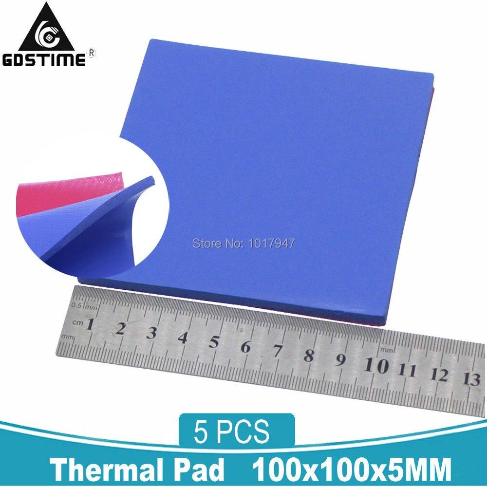 GPU CPU Heatsink Cooling Thermal Conductive Silicone Pad  100x100x1.5mm RS