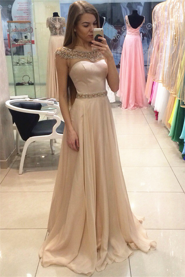 Champagne Prom Dress 2016 Promotion-Shop for Promotional Champagne ...