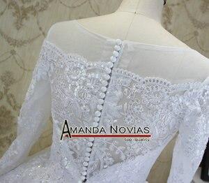 Image 3 - Amanda Novias High end Quality Custom Made Wedding Dresses 2018
