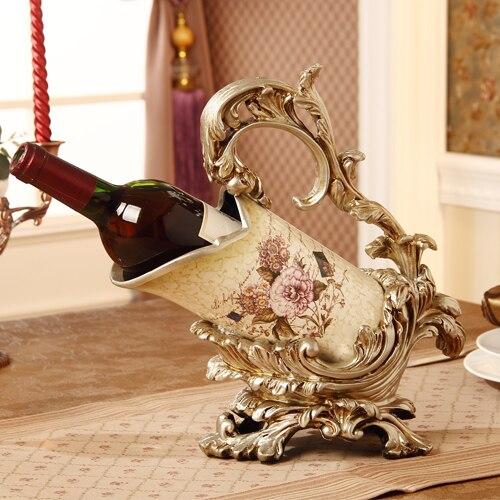 casier a vin europeen ameublement bijoux ornements de luxe decor en ceramique artisanat armoire resine decoration de la chambre dans bouteilles