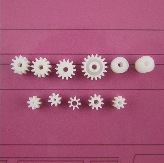 11pcs/lot Plastic 9 Motor Axis Gear Set 2 Worm Gear Wear-resisting DIY Toy Car Parts Free Shipping Russia
