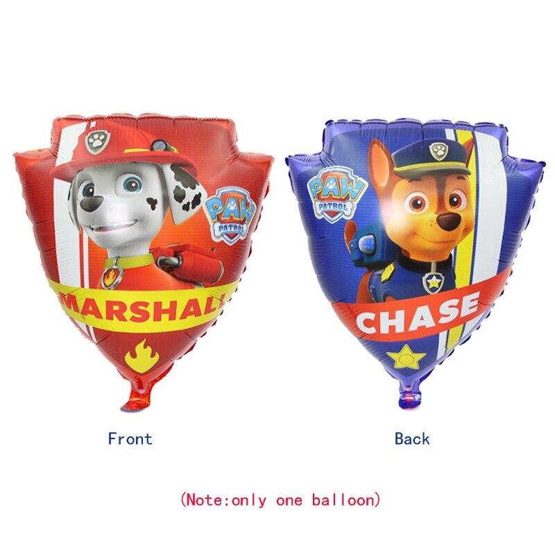 "Paw Patrol 28"" RUBBLE Children Party Helium foil Birthday Balloon"