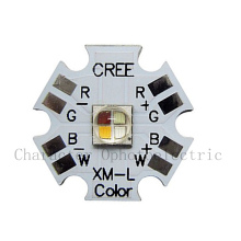 Cree XLamp XM-L XML RGBW RGB White or Warm Color High Power LED Emitter 4-Chip 20mm Star PCB Board