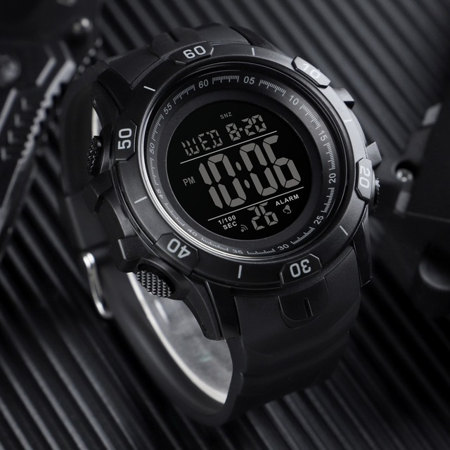 2019 New SKMEI Mens Sports Watches Fashion Outdoor Waterproof Digital Watch Men Military Wristwatches Hot Relogio Masculino 2