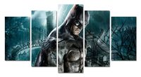 Wall decor Canvas Picture Batman Poster 5 Pieces Art Home No Framed HD Printed canvas painting