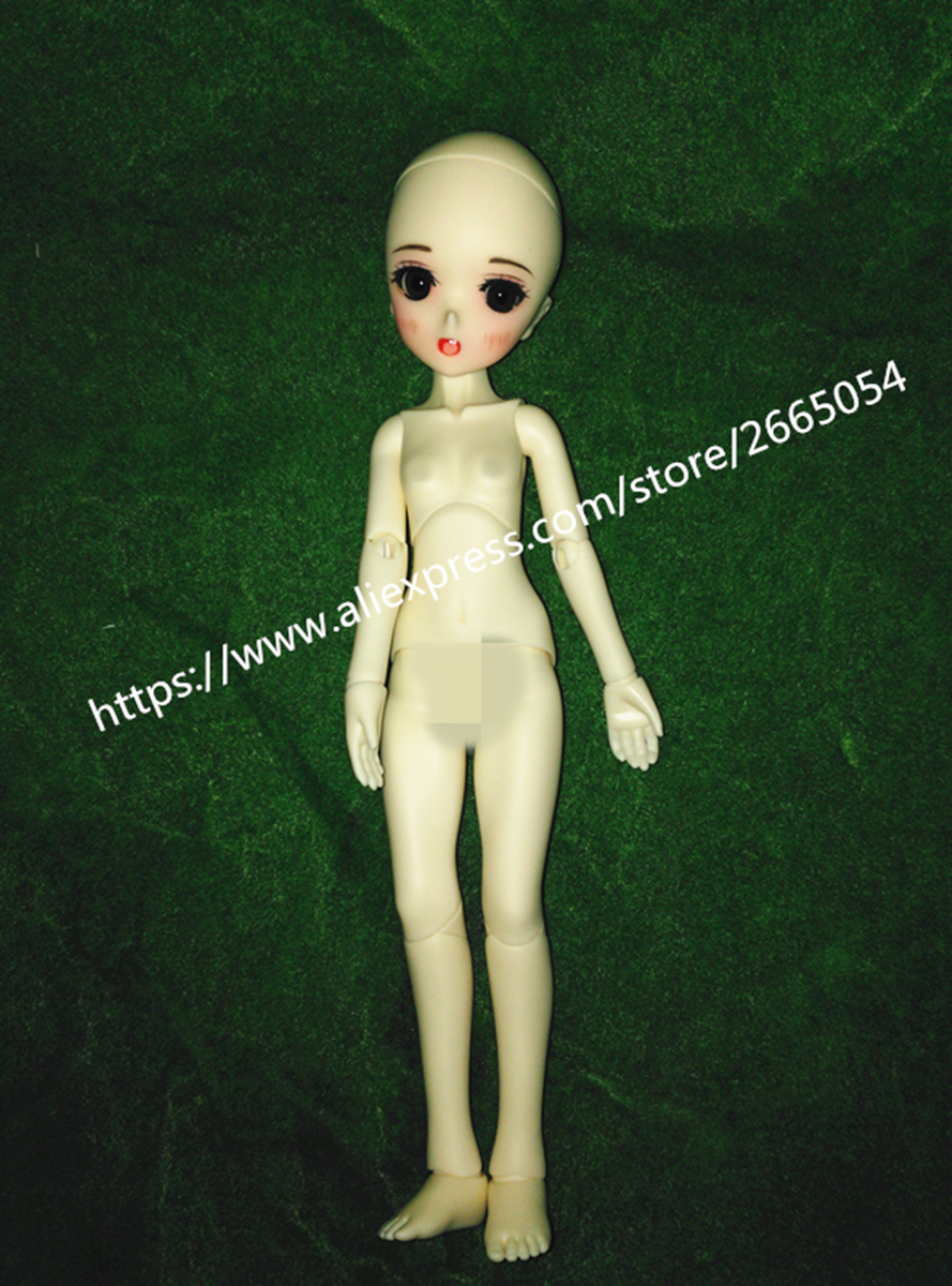 AQK(AQK) 1/6 cent the BJD doll -Ren cartoon face (free send a pair of eyes) aqk aqk doll fortress direct current the soom volks of the 6 bjd sd zora is free to send eyes no makeup free eyes