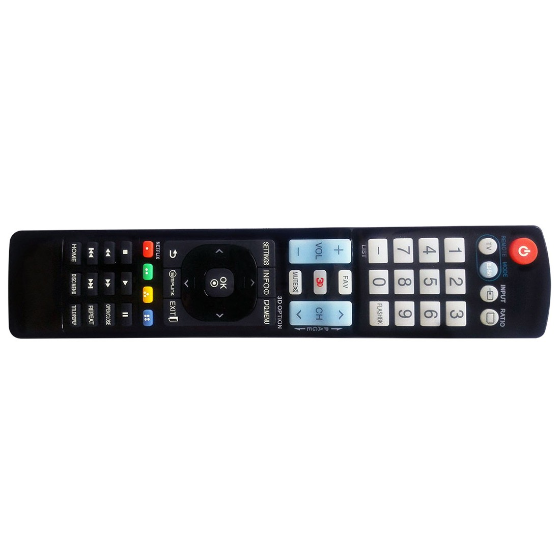 NEW LG TV Universal Remote For AKB72915206 AKB72915238 AKB72915252 ...