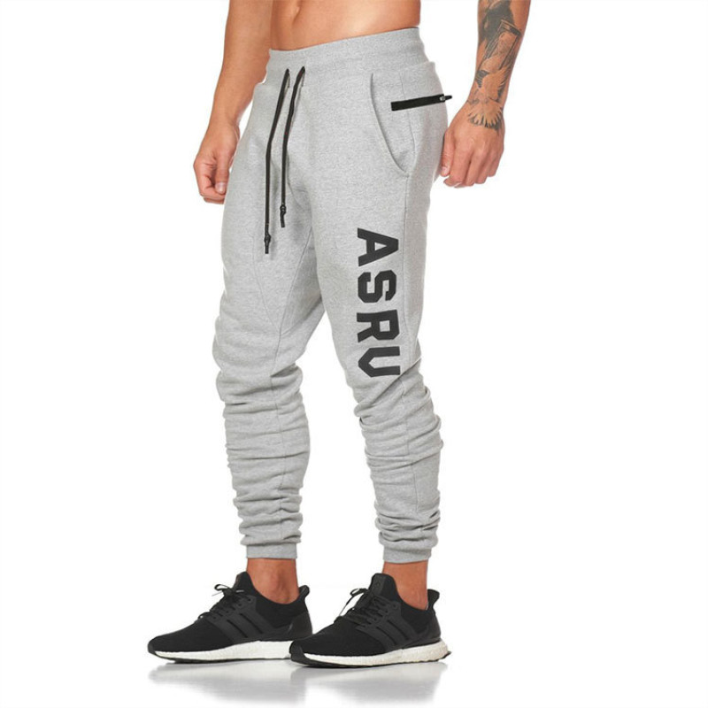 2019 Men Joggers Sweatpants Running Casual Pants Mens Sport Gym Pants Men Jogger Men Pants Slim Fit Cotton Workout Trousers