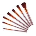 Maquiagem profissional de Cosméticos Em Pó Eyeshadow Lip Brush Tool 7 Pcs Brushes Set smt 101