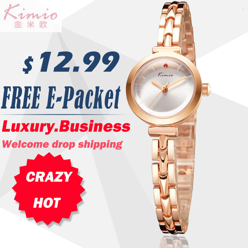 KIMIO Ladies Bracelet Watches Fashion Casual Women Quartz Business Watch K6145S TOP BRAND kimio k482s