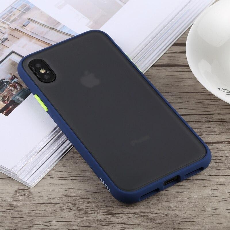 Totudesign gingle série tpu à prova de choque + caso para iphone x & xs & xs max xr