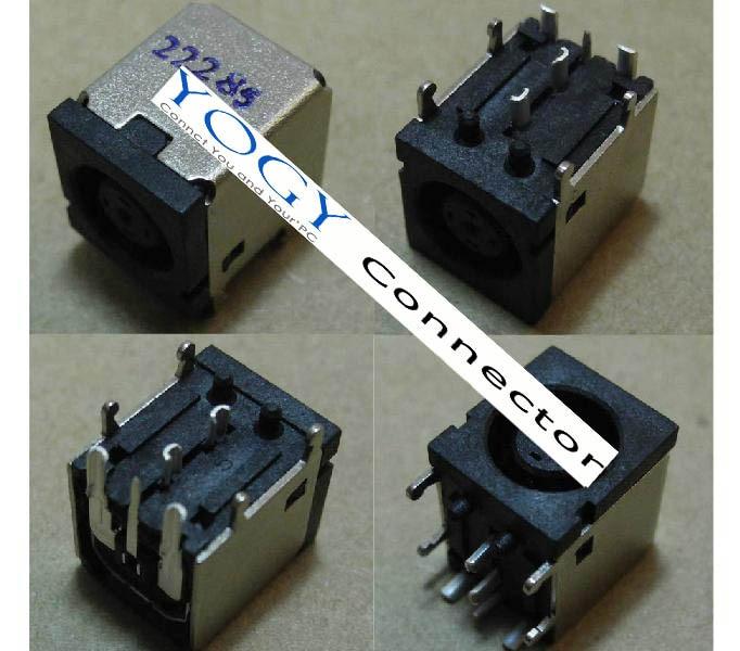 1x Nieuwe Dc Jack Connector Geschikt Voor Dell Precision M20 M60 M65 Firm In Structuur