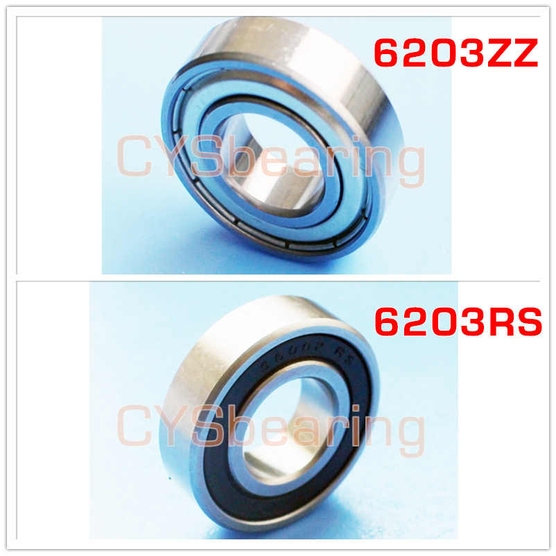10 6203ZZ 17x40x12 17mm//40mm//12mm 6203Z Ball Deep Groove Radial Ball Bearings