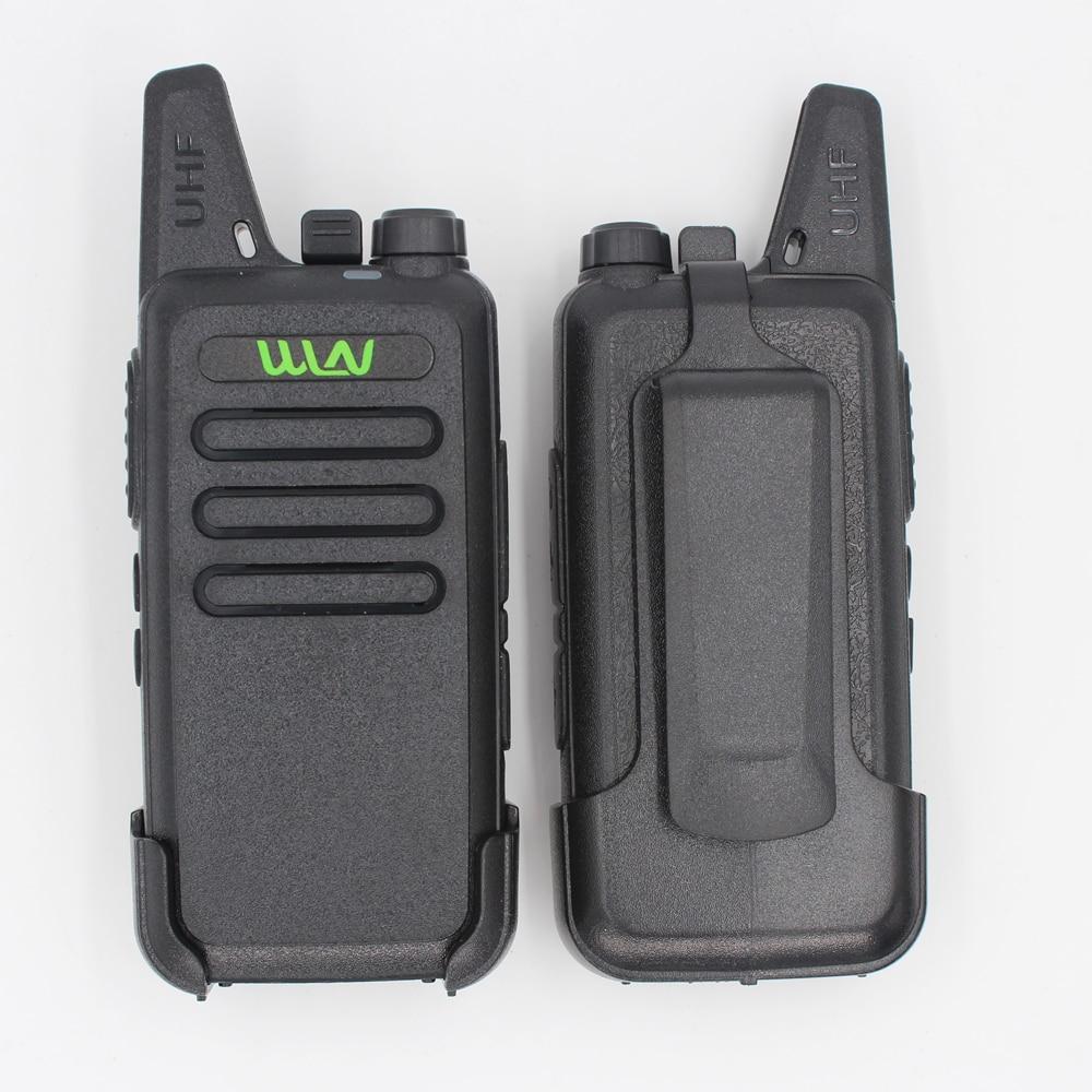2 PCs RFD KD-C1 Mini Ham Two Way Radio Talkie Walkie 5 W longue portée mieux que BF-888S UHF FM émetteur-récepteur